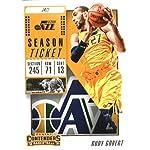 2018-19 NBA Contenders Season Ticket #59 Rudy Gobert Utah Jazz Official Basketball.