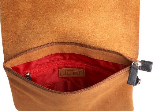 Jost Sky 1366-003, Unisex - Erwachsene Handtasche / Schultertasche, braun, mittelgroß braun