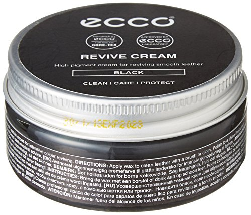 (ECCO Unisex-Adult Revive 50ml Cream, Black, 50.00 ml)