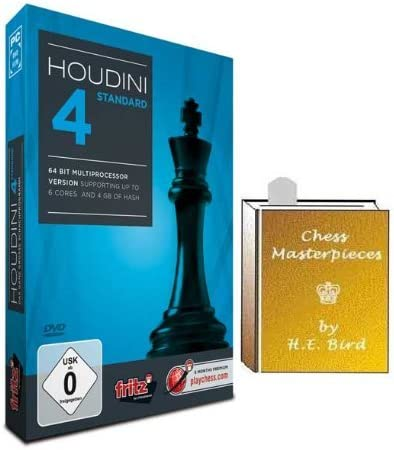 PROFESSIONAL EDITION Chess Software Houdini 6 Chess Playing Software Program