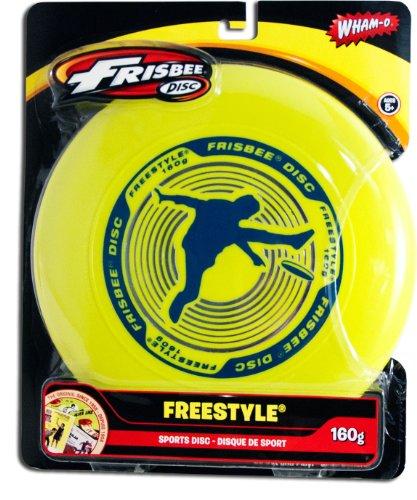 Wham-O 160 Gram Freestyle Frisbee (Lime)