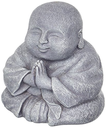 Happy Praying Buddha Statue