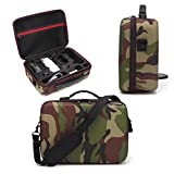 Inverlee Hard Protective Bag Portable Case Storage Bag for DJI Spark Drone & Accessory (As Picture)