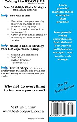 Praxis 1 Strategy: Winning Multiple Choice Strategy for the
