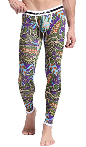 ARCITON Men s Low Rise Leggings Long Johns Thermal Pant US M/with Tag L(Waist: 33