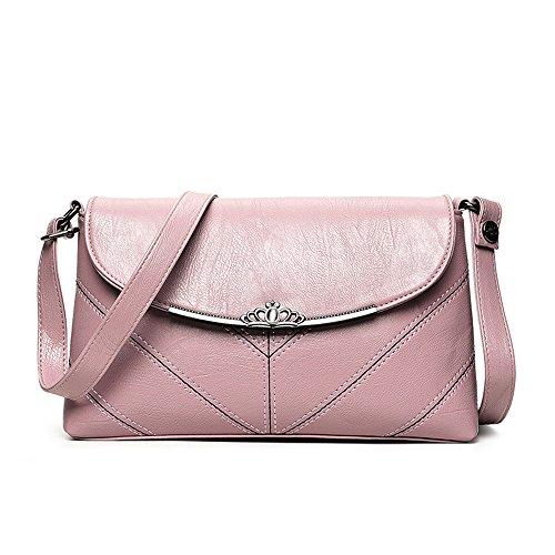 Tutte Meaeo le rosa rosa a tracolla sutura ed tracolla borsa squisita Borsa Una moda auto nuova partite con esclusiva a Orq7SwUO