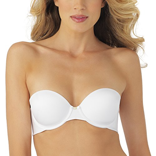 Vanity Fair Women's Beauty Back Strapless Underwire Bra 74345,Star White,38C
