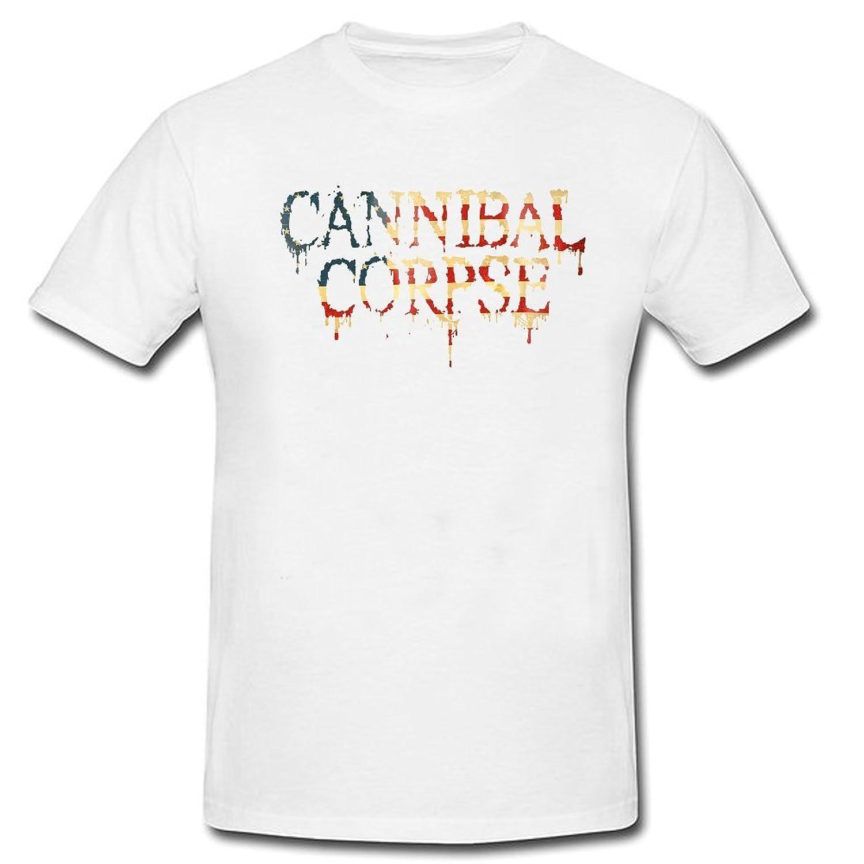 CEMMA cannibal-corpse-logo Tshirts Designed Short sleeve Black