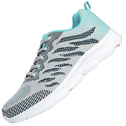 JARLIF Women s Breathable Tennis Running Shoes Athletic Fitness Workout Gym Jogging Walking Shoes US5.5-10