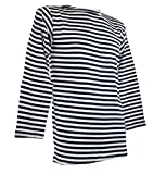 Mil-Tec Russian Navy Pullover Striped Summer Sweater - 10813000-903