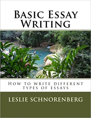 basic essay writing how to write different types of essays basic essay writing how to write different types of essays leslie lynn schnorenberg 9781482708141 com books