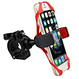 Browin CXC635635282530 Universal Bike Phone Holder with Super grip Elastic Stabilizer for iPhone 4,5,6,6S or Android up to 4.7'' Screens