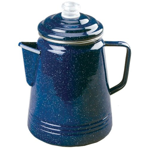 Coleman Double-Coated Enamel Percolator - 14 Cup
