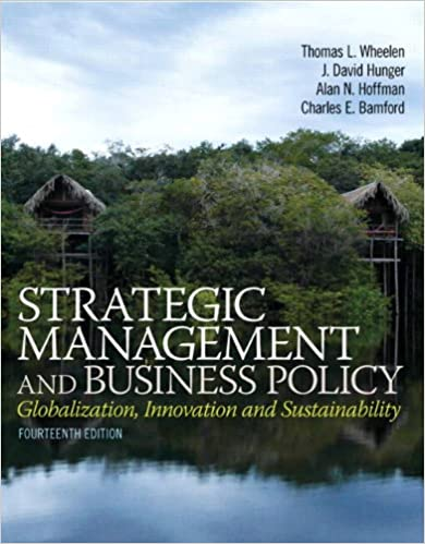 Amazon Com Strategic Management And Business Policy Globalization