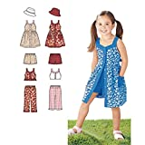 Simplicity Easy to Sew Girl's Dress, Top, Pants or