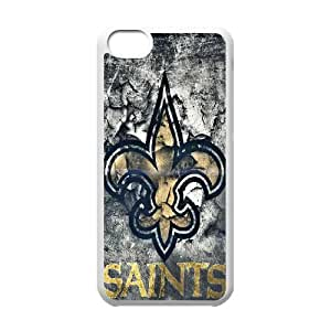 DIY Printed New Orleans Saints hard plastic case skin cover For iPhone 5C SNQ593275