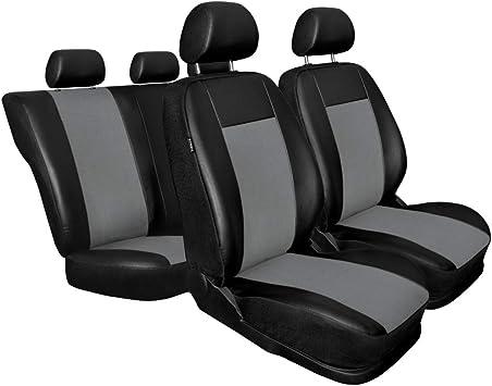 Universal Autositzbezüge für Mercedes C Klasse Grau Sitzbezug Auto Schonbezüge