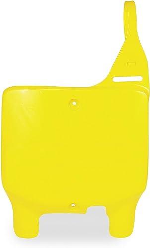 for 08-17 Suzuki RMZ450 Yellow Polisport Number Plate