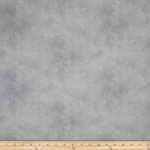 P & B Textiles Suede Medley Lt. Gray Fabric By The Yard -  00301-SUE5-LS