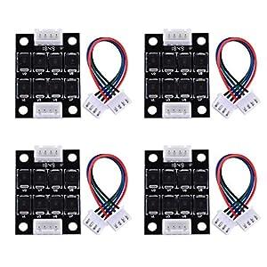SIQUK 4 Pezzi TL Modulo di addonatura più liscia Accessori per stampanti 3D Filtro per eliminazione del pattern Filtro… 51UxnY1 pYL. SS300
