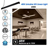 N2R 48W LED Linear Light, 4FT Linkable Suspension
