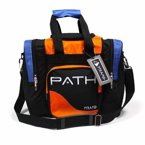 Pyramid Path Pro Deluxe Single Tote - Orange/Royal (Pro Tote)