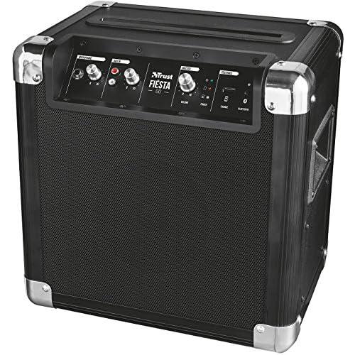 chollos oferta descuentos barato Trust Urban Fiesta Go Altavoz amplificador inalámbrico con Bluetooth y micrófono 40 W RMS negro