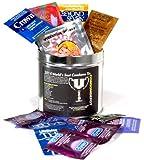 World's Best Condom Sampler Tin
