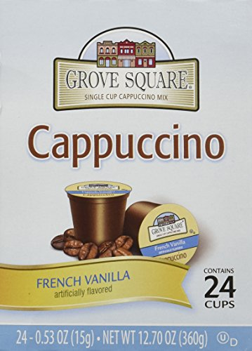Grove Square French Vanilla Cappuccino Individual Cups - 72 ct. from Grove Square