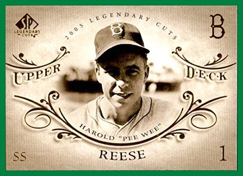 2005 SP Legendary Cuts #61 Pee Wee Reese brooklyn dodgers ()