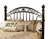 Hillsdale Furniture 1335HK Chesapeake Headboard, King, Rustic Old Brown For Sale