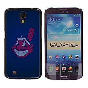 Impact Case Cover with Art Pattern Designs FOR Samsung Galaxy Mega 6.3 Cleveland Indian Baseball Betty shop
