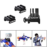 Fantaseal® Enhanced Gun Rail Mount Kit for GoPro Hero 5 Nerf to Picatinny Rail Aluminum Alloy Gun Rail Adapter Mount 18-21mm Hardpoint Nerf Attachment Accessories Nerf Gun Mount MOD Kit for Standard Military Tactical Gear Scope etc + Picatinny Gun Rail Mount Picatinny Airsoft Gun Camera Mount Adapter for GoPro Gun Mount GoPro Picatinny Gun Rail Mount GoPro Airsoft Gun Mount Shotgun Rifle Pistol Carbine Gun for Gopro Hero 5 Black / Hero 5 Session Action Camera Rail Adapter