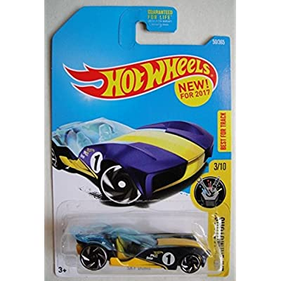 Hot Wheels 2020 Experimotors Sky Dome 50/365, Blue and Yellow: Toys & Games