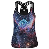 Resulzon Yoga Sexy Vest Breathable High Impact Support for Workout Fitness