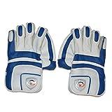 NASIR ALI Men's Batting Cricket Match Wicket Keeping With Padded Inner Gloves