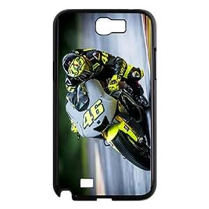 Samsung Galaxy N2 7100 Cell Phone Case Black Valentino Rossi Phone cover U8477043
