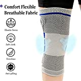 CCHKFEI Knee Brace Compression Sleeve Stabilizer