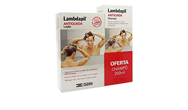 ISDIN Lambdapil Anti Hair Loss Lotion 20X3ml + Shampoo 200ml: Amazon.es: Belleza