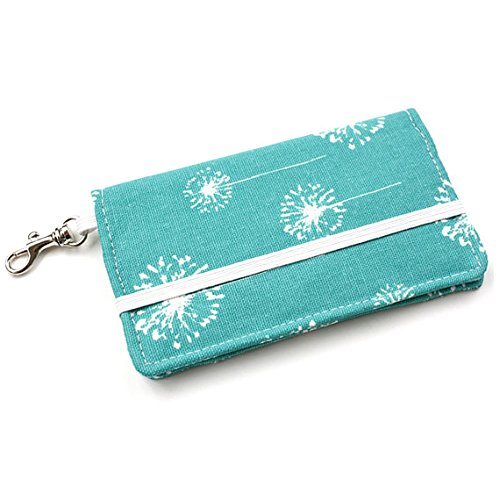 kailo-chic-small-cell-phone-wallet-tqs-dandelion-with-crossbody-strap