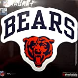 Chicago Bears ARCH Style Logo 12'' Magnet Heavy Duty Auto Home NFL Football