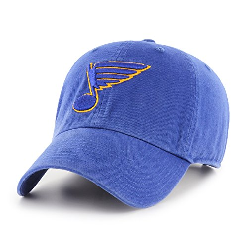 NHL St. Louis Blues Male OTS Challenger Adjustable Hat, Royal, One Size ()