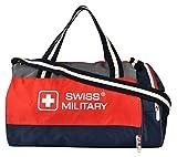 Swiss Military  Polyester 31 Ltrs Blue Sports Duffel (OC1)