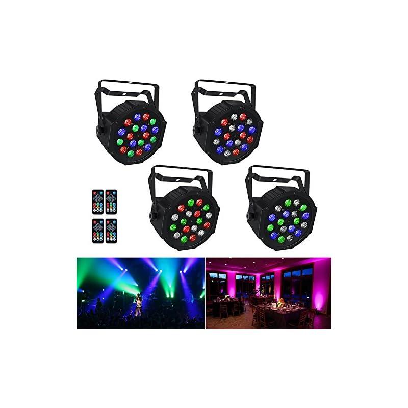 Stage Lights, LaluceNatz 18x1W RGB LED P