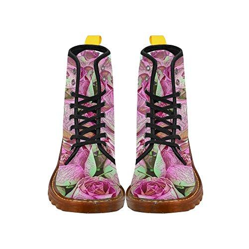 Leinterest Floral Artstudio Martin Stivali Moda Scarpe Da Donna