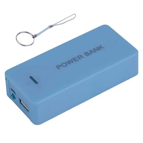 Formulaioue Batería portátil Power Bank Case Batería de ...