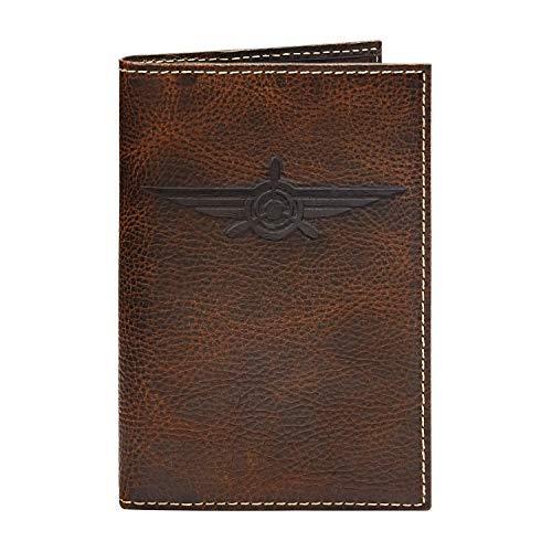 HOJ Co. Lindbergh Leather PASSPORT COVER-Full Grain Leather Travel Wallet-Passport Case-Passport -