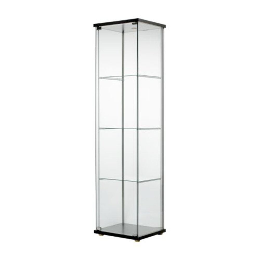 Beau Amazon.com: Ikea Home Indoor Glass Door Cabinet Black Brown: Kitchen U0026  Dining
