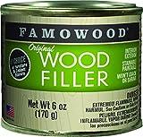 FamoWood 36141122 Original Wood Filler - 1/4 Pint, Mahogany