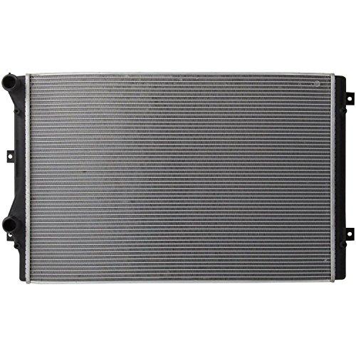 Klimoto Brand New Radiator fits Audi A3 TT Quatro Beetle CC Eos GTI Jetta 2.0L L4 VW3010156 5K0-121-251J 5KO121251J 3559 CSF-3559 13212 DPI13212 CU13212 (2018 Vw Gti Radiator)